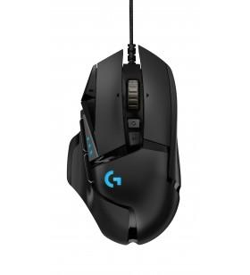 Logitech G502 Hero mouse-uri USB Optice 16000 DPI Mâna dreaptă