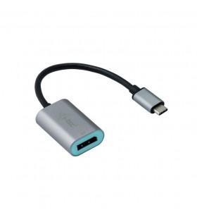 i-tec Metal C31METALDP60HZ cabluri prelungitoare cu mufe mamă tată USB-C 3.1 Display Port Gri, Turcoaz