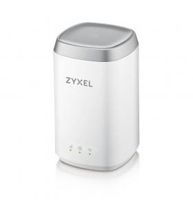 Zyxel LTE4506-M606 router wireless Bandă dublă (2.4 GHz  5 GHz) Gigabit Ethernet 3G 4G Alb