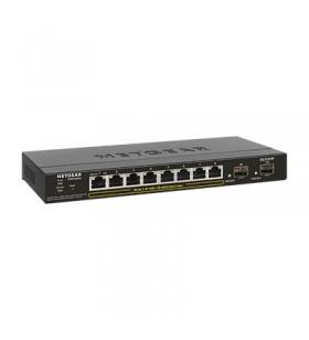 Netgear GS310TP Gestionate L2 Gigabit Ethernet (10 100 1000) Negru Power over Ethernet (PoE) Suport