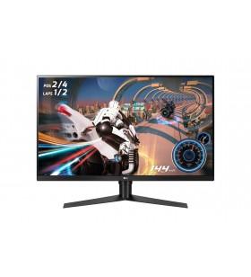 """LG 32GK650F-B monitoare LCD 80 cm (31.5"""") 2560 x 1440 Pixel WQXGA LED Negru, Roşu"""