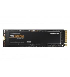 Samsung 970 EVO Plus M.2 250 Giga Bites PCI Express 3.0 V-NAND MLC NVMe