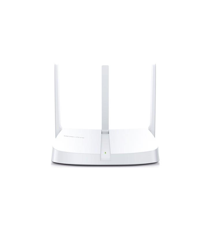 "ROUTER MERCUSYS wireless  300Mbps, 4 porturi 10/100Mbps, 2 x antena externa, ""MW305R""/45505627 (include timbru verde 1 leu) -"