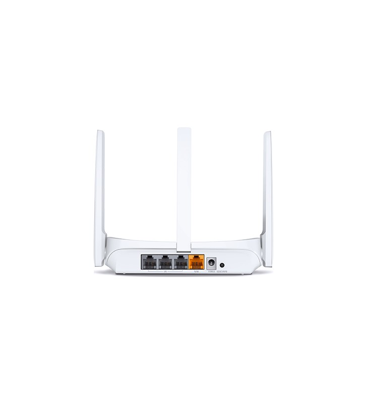 "ROUTER MERCUSYS wireless  300Mbps, 4 porturi 10/100Mbps, 2 x antena externa, ""MW305R""/45505627 (include timbru verde 1 leu) -"