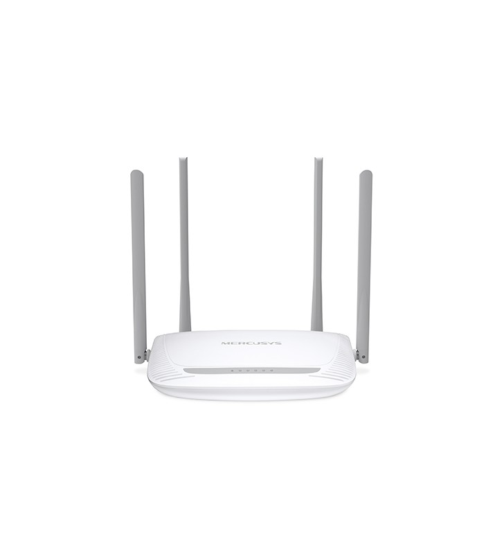 "ROUTER MERCUSYS wireless  300Mbps, 4 porturi 10/100Mbps, 4 x antena externa, ""MW325R""(include timbru verde 1 leu) /45505975/26"