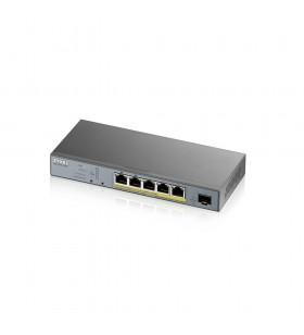 Zyxel GS1350-6HP-EU0101F switch-uri Gestionate L2 Gigabit Ethernet (10 100 1000) Gri Power over Ethernet (PoE) Suport