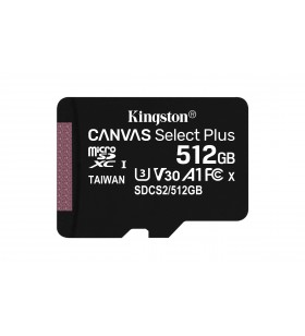Kingston Technology Canvas Select Plus memorii flash 512 Giga Bites SDXC Clasa 10 UHS-I
