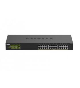 Netgear GS324PP Fara management Gigabit Ethernet (10 100 1000) Negru Power over Ethernet (PoE) Suport