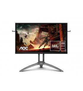 "AOC Gaming AG273QX monitoare LCD 68,6 cm (27"") 2560 x 1440 Pixel Quad HD Negru, Roşu"