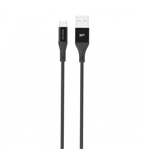 Silicon Power LK30AB cabluri USB 1 m 2.0 USB A Micro-USB B Negru
