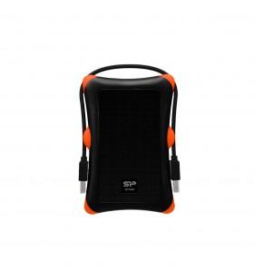 Silicon Power Armor A30 Cutie protecție HDD SSD Negru, Portocală