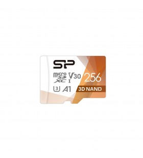 Silicon Power Superior Pro memorii flash 256 Giga Bites MicroSDXC Clasa 10 UHS-I