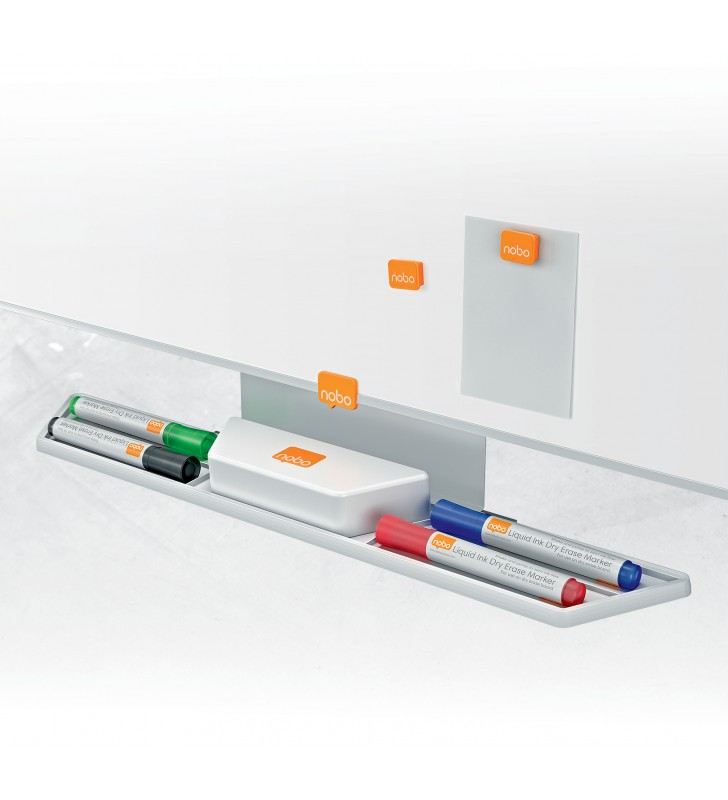 """TABLA MAGNETICA NOBO Nano Clean Widescreen, 70"""", din otel, """"1905299"""""""