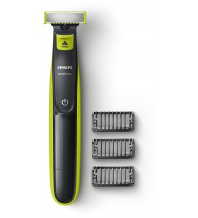 Philips OneBlade tunde, conturează şi bărbiereşte orice lungime de păr