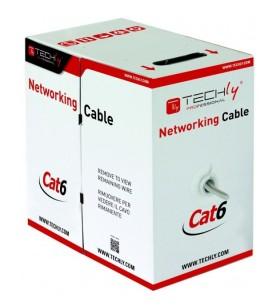 Intellinet ITP9-FLU-0305 cabluri de rețea 305 m Cat6 U UTP (UTP) Gri