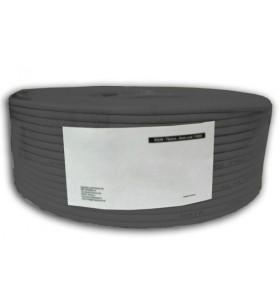Techly ITP7-UTP-0100LO cabluri de rețea 100 m Cat5e U UTP (UTP) Negru