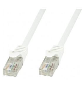 Techly ICOC U6-6U-100-WHT cabluri de rețea 10 m Cat6 U UTP (UTP) Alb