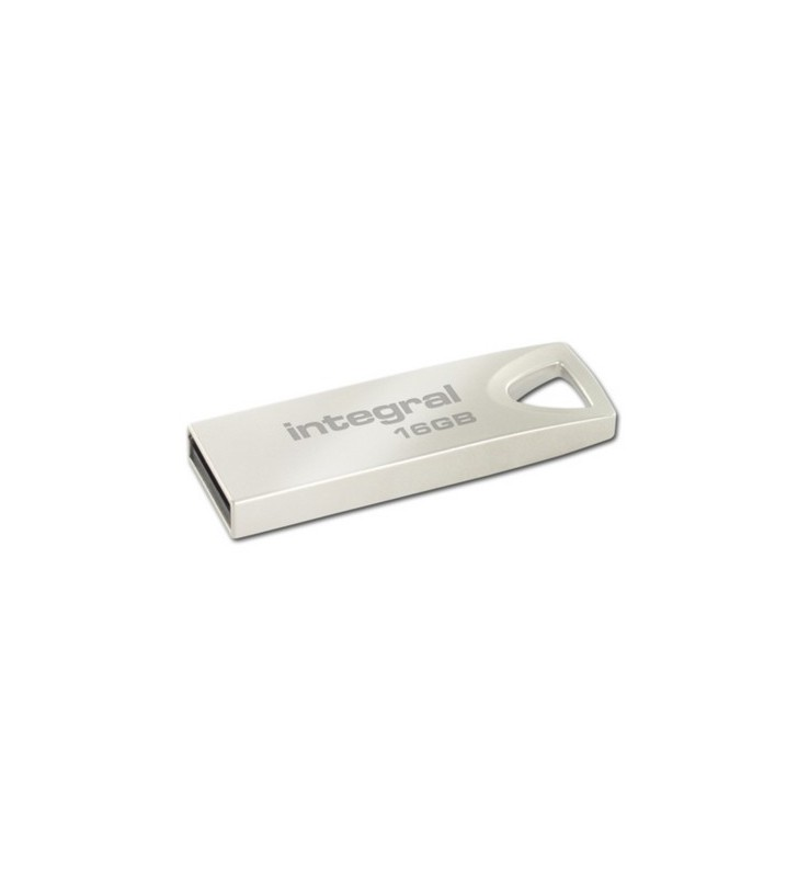 Integral ARC memorii flash USB 16 Giga Bites USB Tip-A 2 Argint