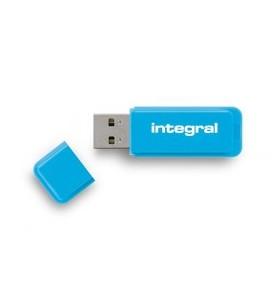 Integral NEON memorii flash USB 8 Giga Bites USB Tip-A 2 Albastru