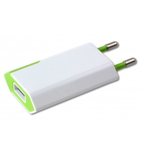 Techly IPW-USB-ECWG încărcătoare pentru dispozitive mobile De interior Verde, Alb