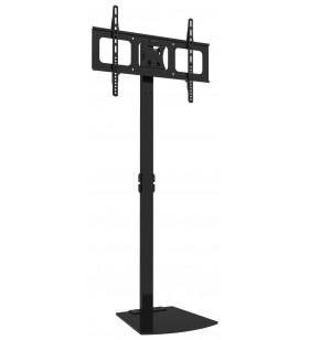 """Techly ICA-TR12 suporturi de podea pentru televizor 177,8 cm (70"""") Stand de podea pentru panou fix Negru"""