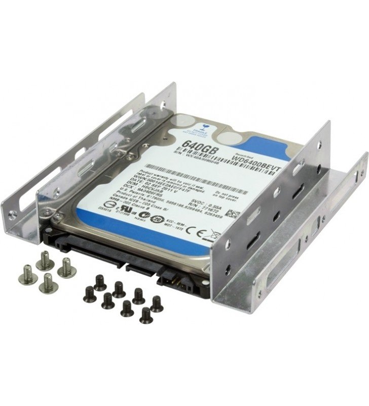 "ADAPTOR LOGILINK fixare HDD/ SSD 2,5"" in bay de 3,5"", 2 x 2.5"", ""AD0009"""