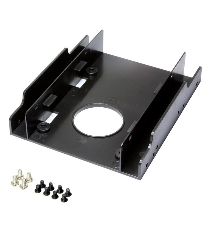 "ADAPTOR LOGILINK fixare HDD/ SSD 2,5"" in bay de 3,5"", 2 x 2.5"", ""AD0010"""