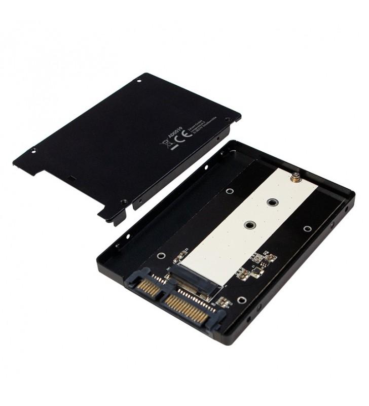 "ADAPTOR LOGILINK M.2 (M) la S-ATA 3 (T), adaptor pt. SSD M.2 la S-ATA, ""AD0019"""