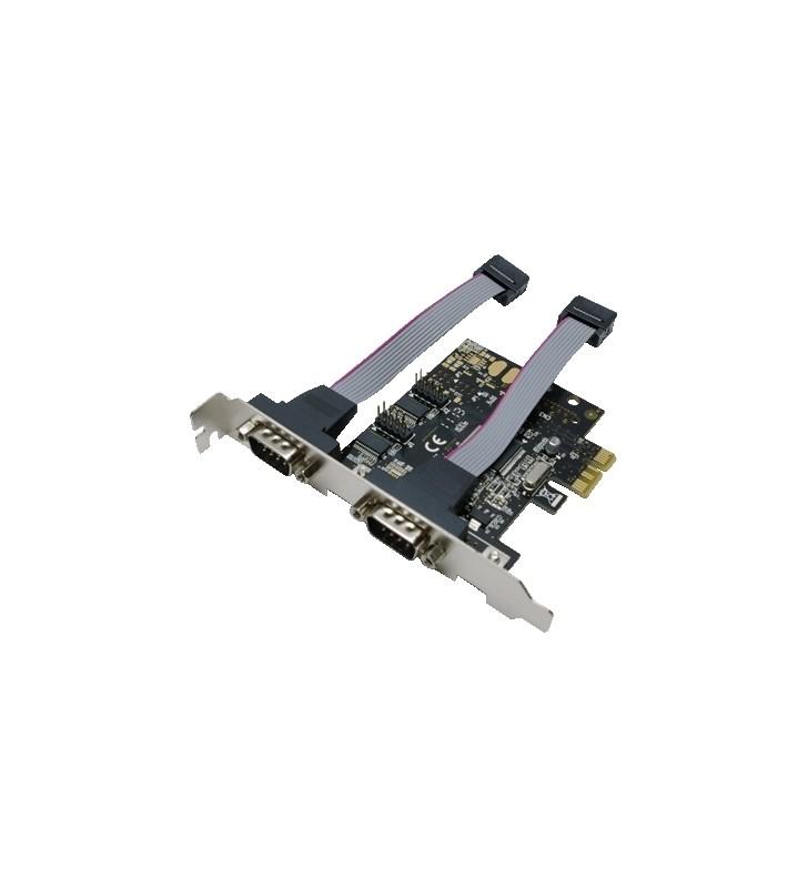 """CARD adaptor LOGILINK, PCI-Express la 2 x SERIAL DB9M, """"PC0031"""""""