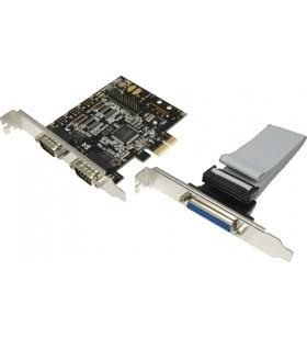 """CARD adaptor LOGILINK, PCI-Express la 2 x SERIAL DB9M.+ 1 x PARALEL, """"PC0033"""""""