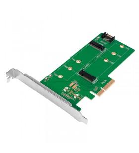 "CARD adaptor LOGILINK, PCI-Express la M.2 SSD SATA/PCIe, ""PC0083"""