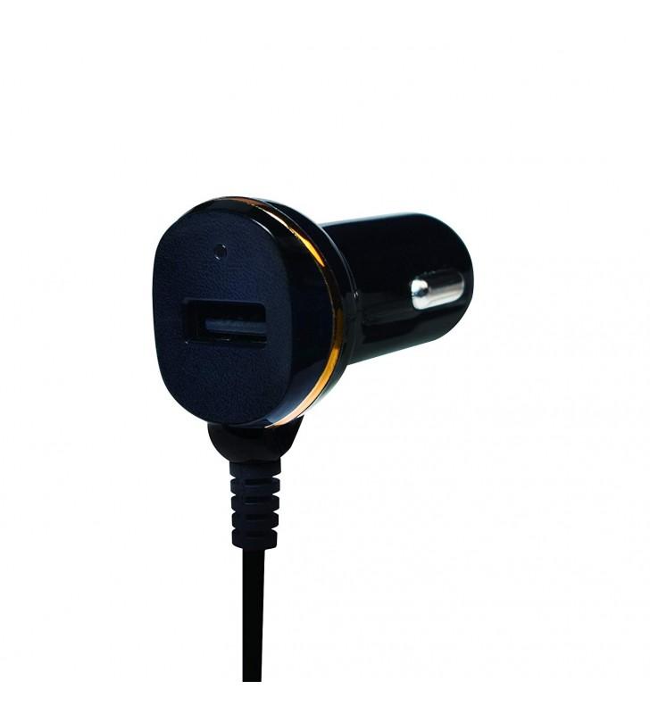 """ALIMENTATOR auto LOGILINK, 2 x USB, pt. bricheta auto 1 x USB, cablu micro-USB 1 x USB, 0.4m cablu, maxim 2.1A, black, """"PA0147\"""