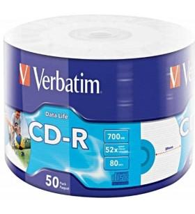 Verbatim 50x CD-R 700 Mega bites 50 buc.