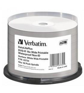 Verbatim DataLifePlus 4,7 Giga Bites DVD-R 50 buc.