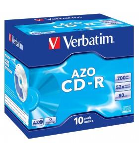 Verbatim CD-R AZO Crystal 700 Mega bites 10 buc.