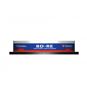 Verbatim BD-RE SL 25GB 2x 10 Pack Spindle 25 Giga Bites 10 buc.