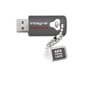 Integral INFD16GCRY3.0197 memorii flash USB 16 Giga Bites USB Tip-A 3.2 Gen 1 (3.1 Gen 1) Gri