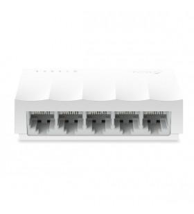 TP-LINK LS1005 hub-uri de interfață 100 Mbit s Alb
