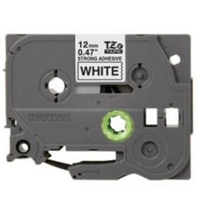 Brother TZeS231 benzi pentru etichete Negru pe alb TZ