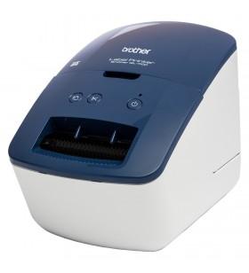 Brother QL-600B imprimante pentru etichete Direct termică 300 x 600 DPI Prin cablu DK