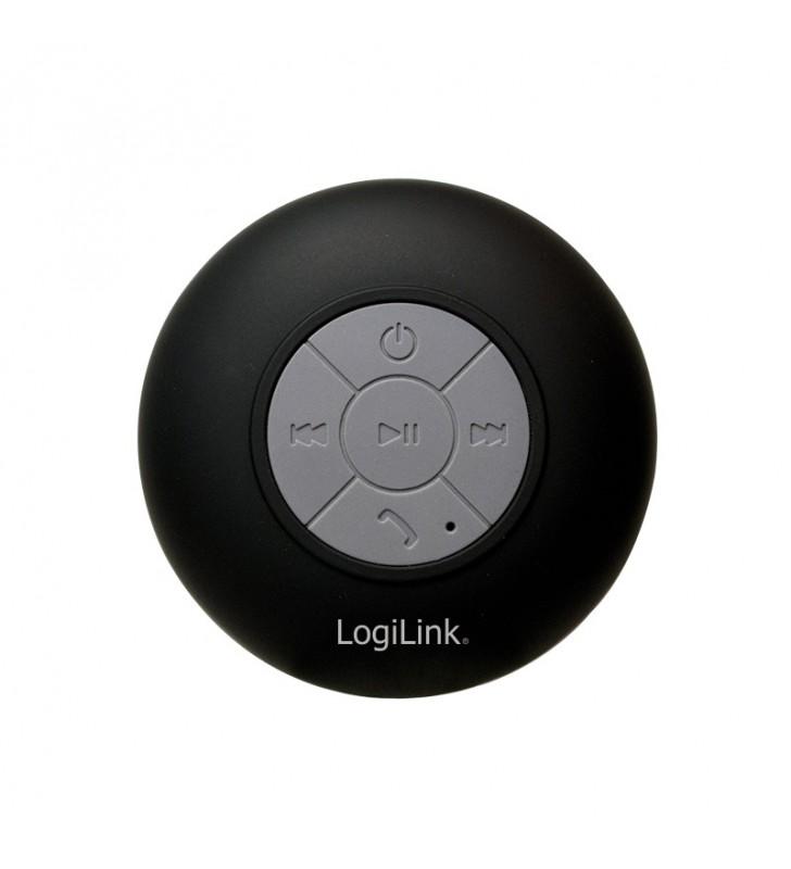 BOXE LOGILINK portabile bluetooth, RMS 3W, acumulator 400mAh, timp de functionare pana la 4 ore, distanta de functionare pana la