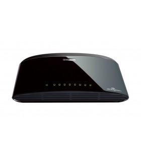 D-Link DES-1008D Fara management Fast Ethernet (10 100) Negru
