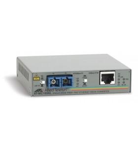 Allied Telesis AT-MC103XL convertoare media pentru rețea 100 Mbit s 1310 nm