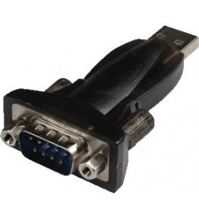 "ADAPTOR LOGILINK USB2.0 la SERIAL DB9M (9-pin), ""AU0002E"""