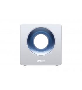 ASUS Blue Cave router wireless Bandă dublă (2.4 GHz  5 GHz) Gigabit Ethernet Albastru, Alb