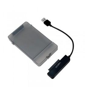 """USB Adapter, Logilink, USB 3.0 AM to SATA for 2.5"""" HDD/SSD, w. box """"AU0037"""""""