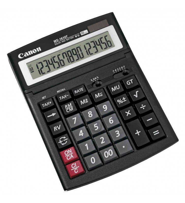 Calculator de birou CANON  WS-1610T BE0696B001AA (include timbru verde 0.01 Lei)