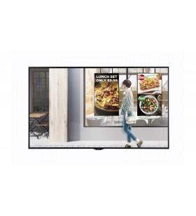 "LG 49XS2E Afișaj Semne 124,5 cm (49"") LED Full HD Panou informare digital de perete Negru Web OS"