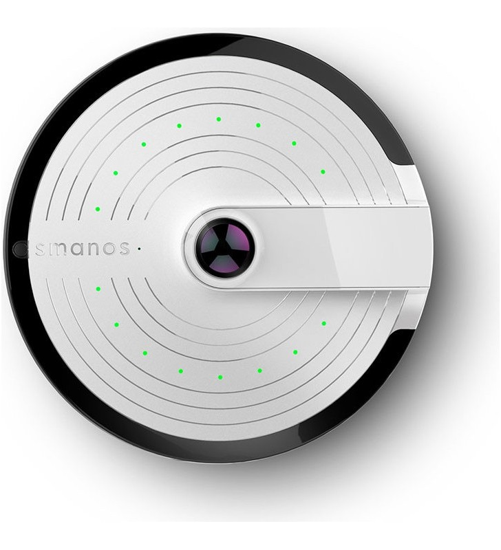 "CAMERA de supraveghere wireless SMANOS, panoramica, rez. full HD, cu vizualizare pe smartphone, inregistrare pe microSD card, """