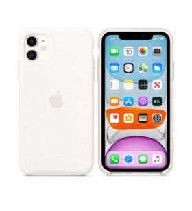 IPHONE 11 SILICONE CASE/WHITE
